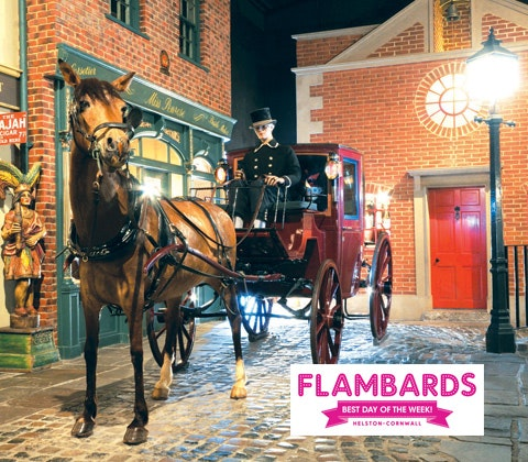 Flambards victorian village square