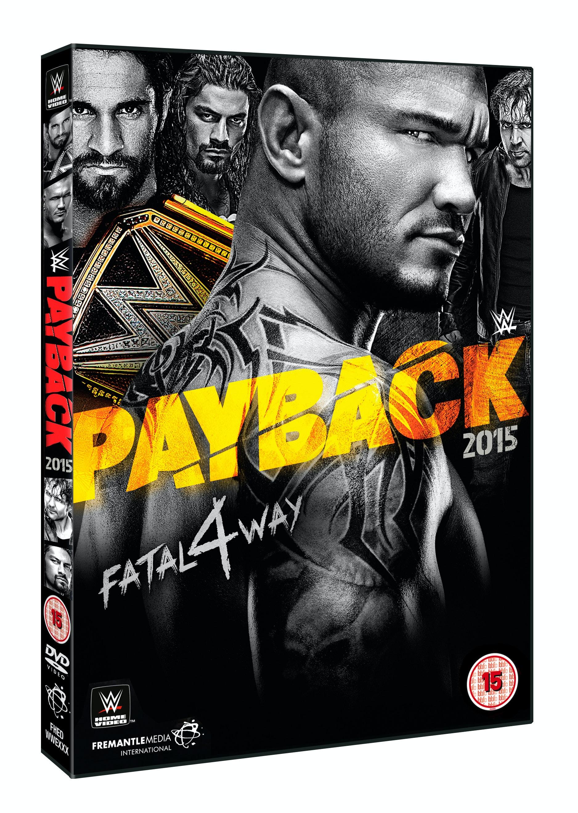 WWE Payback 2015 DVD sweepstakes