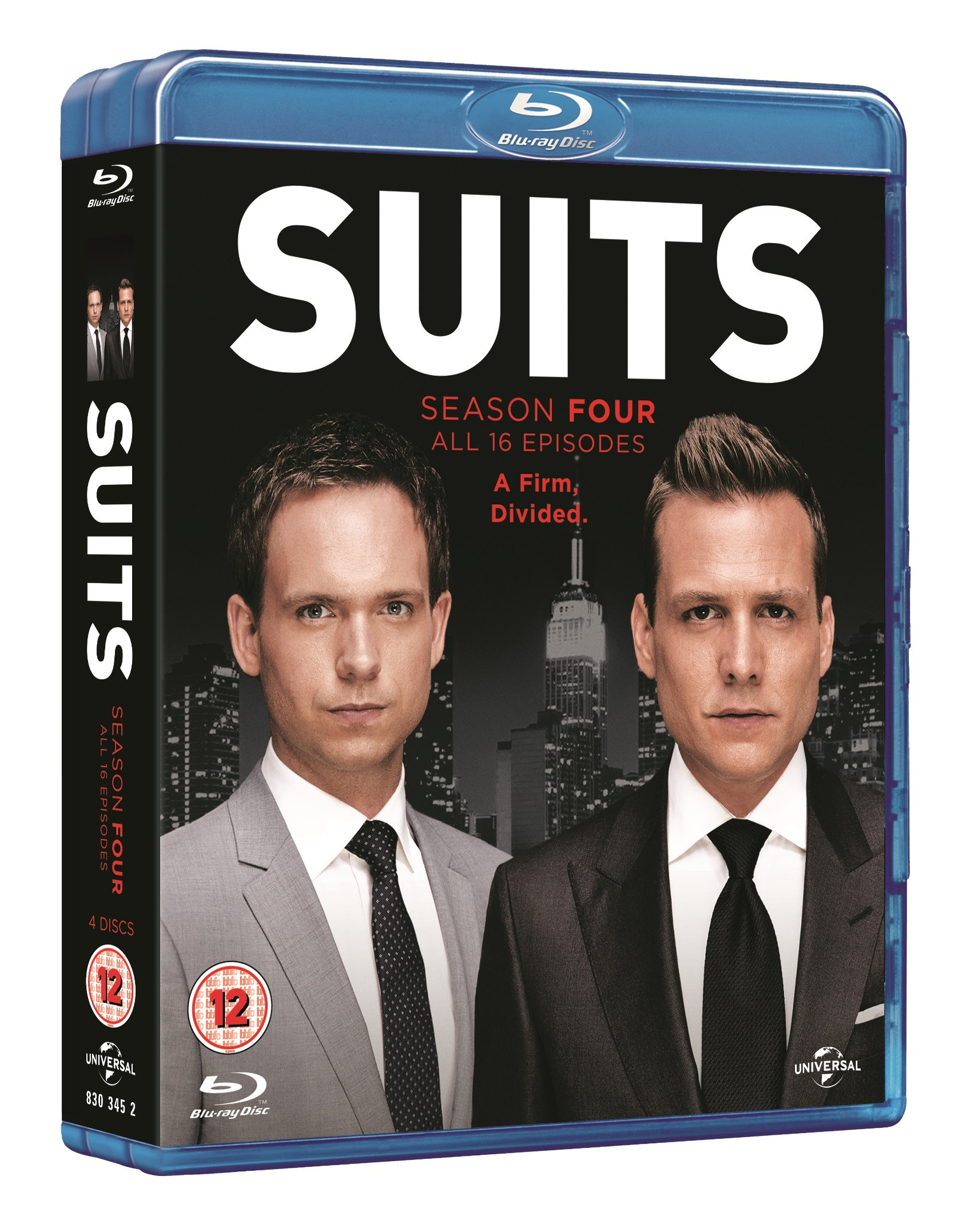 Suits season 4 3d pack shot