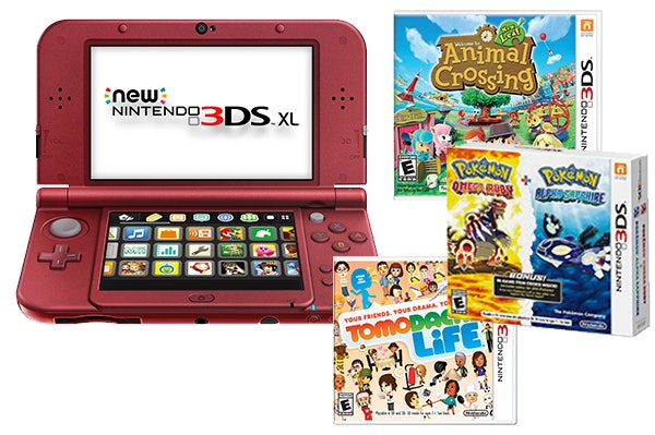 Nintendo 3ds games sm