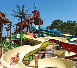Win eurocamp waterslide 2