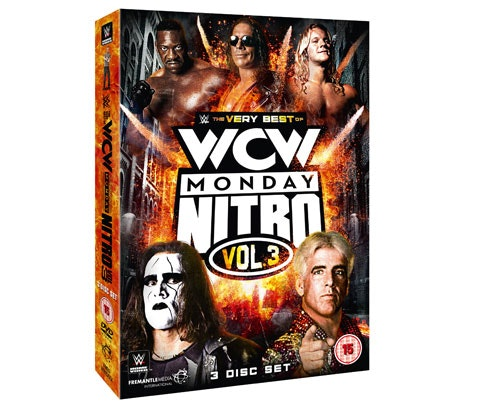 The Very Best of WCW Monday Nitro Vol. 3 sweepstakes
