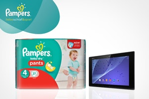 Tablet logo pamperspants 450
