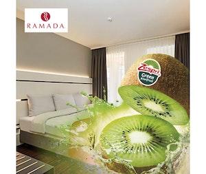 Zespri bauer hotelzimmer green