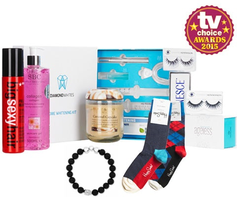 Win a fantastic TV Choice Awards goodie bag sweepstakes