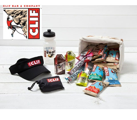 Win 4 x Clif goody bags sweepstakes