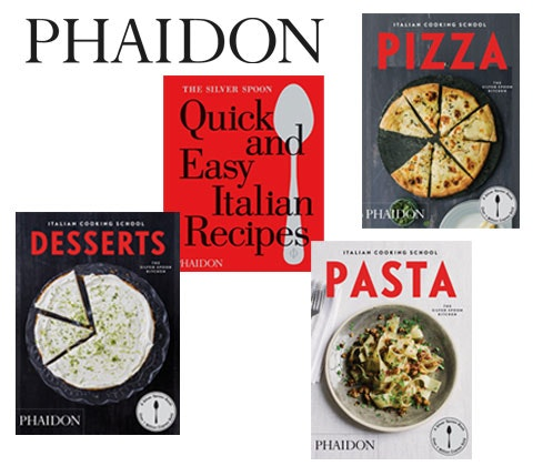 Win a set of Silver Spoon cookery books sweepstakes