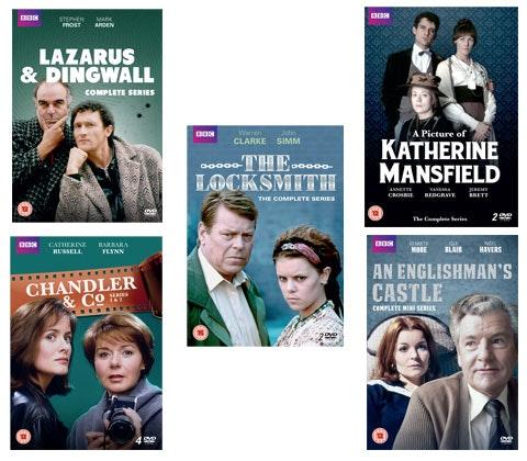 Simply Media DVD bundle sweepstakes