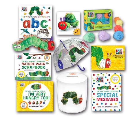 The Very Hungry Caterpillar sweepstakes