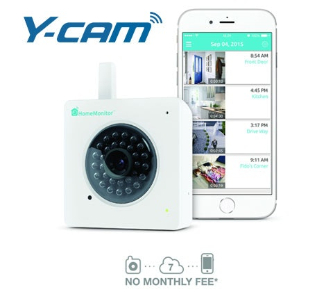 Win 5 x Y-cam HD HomeMonitor cameras sweepstakes