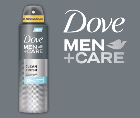 Gewinnspielkomposition dove men care