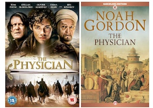 The physician dvd   book artwork