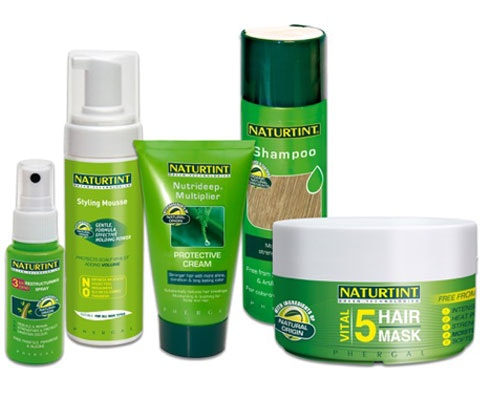 Win 5 x haircare sets from Naturtint sweepstakes