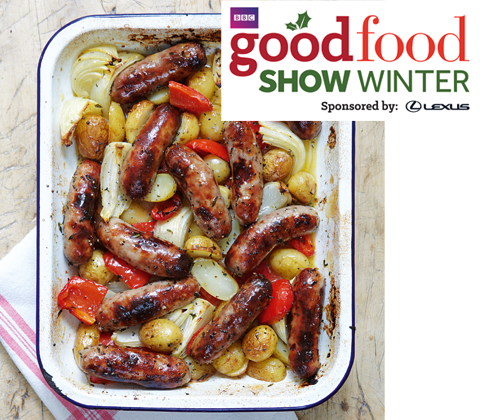 tickets to the BBC Good Food Show sweepstakes