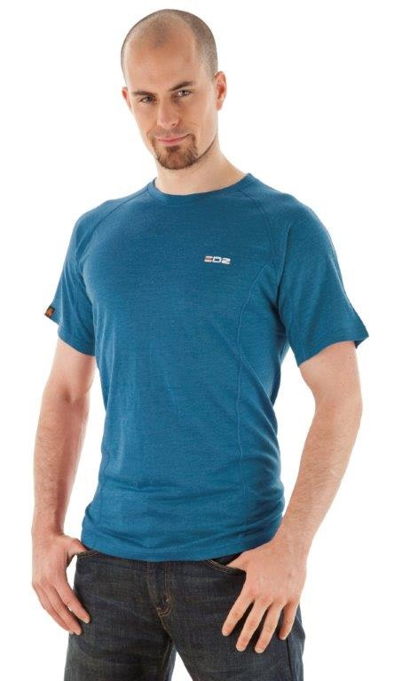 Merino t shirt mens seaport small