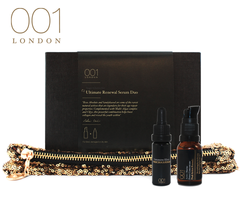001 Skincare, London Ultimate Renewal Serum Duo sweepstakes