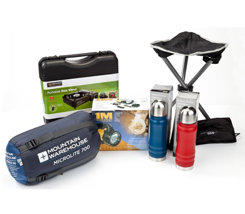 camping kit sweepstakes