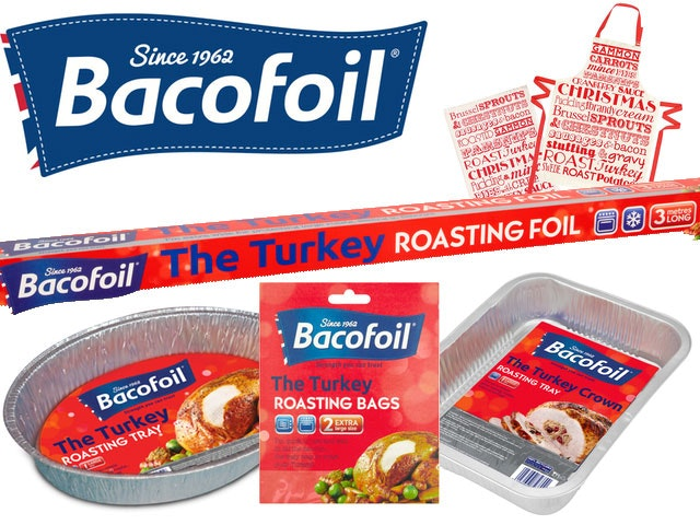 Win 5 x Bacofoil Turkey sets sweepstakes