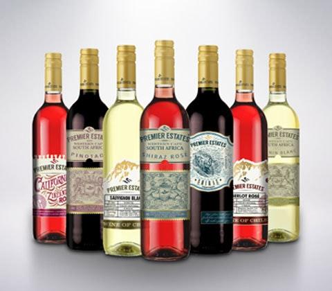 Win 2 x 3 cases of Premier Estates Wine sweepstakes
