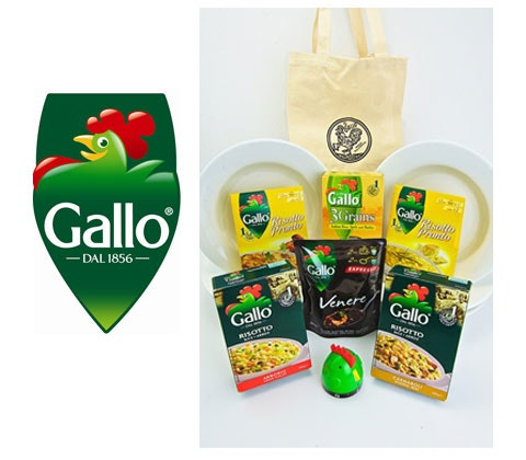 Win 2 x Riso Gallo sets sweepstakes