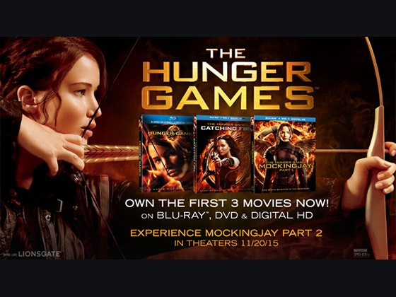 Hunger games 3 movies giveaway