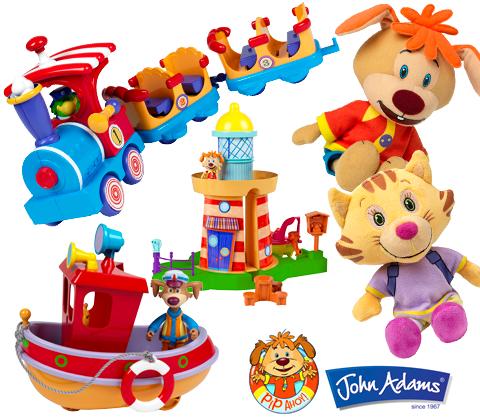 John Adams Pip Ahoy toy bundles sweepstakes