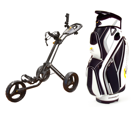 Powakaddy twinline with bag