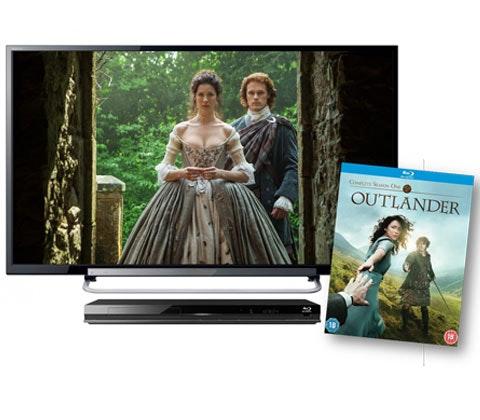"Win 32"" TV, Blu-ray player & Outlander: Season One Blu-ray sweepstakes"