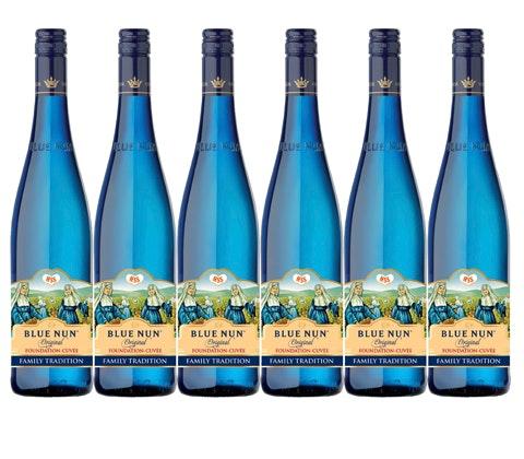 Retro Blue Nun wine sweepstakes