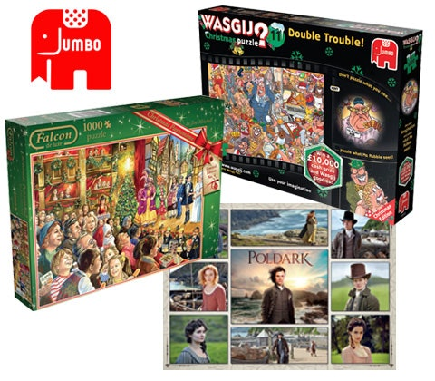 Win 5 x Christmas jigsaw puzzle bundles sweepstakes