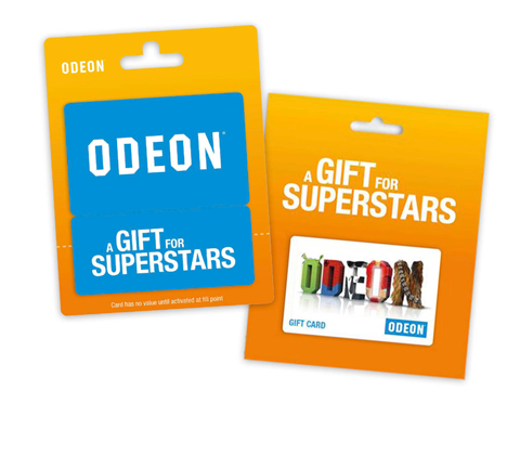 ODEON Cinema Gft Guides sweepstakes