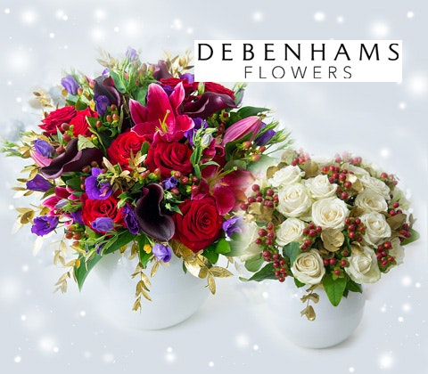 6 months supply of Debenhams flowers sweepstakes
