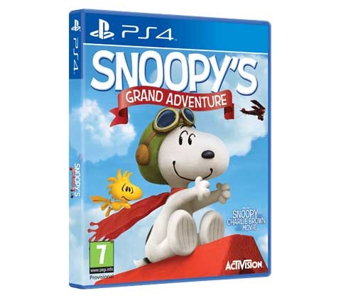 win a digital copy of The Peanuts Movie: Snoopy's Grand Adventure game, on PS4 sweepstakes