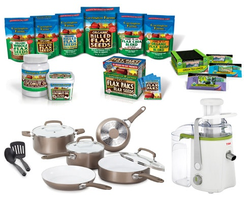 Carrington Farms Prize Package sweepstakes