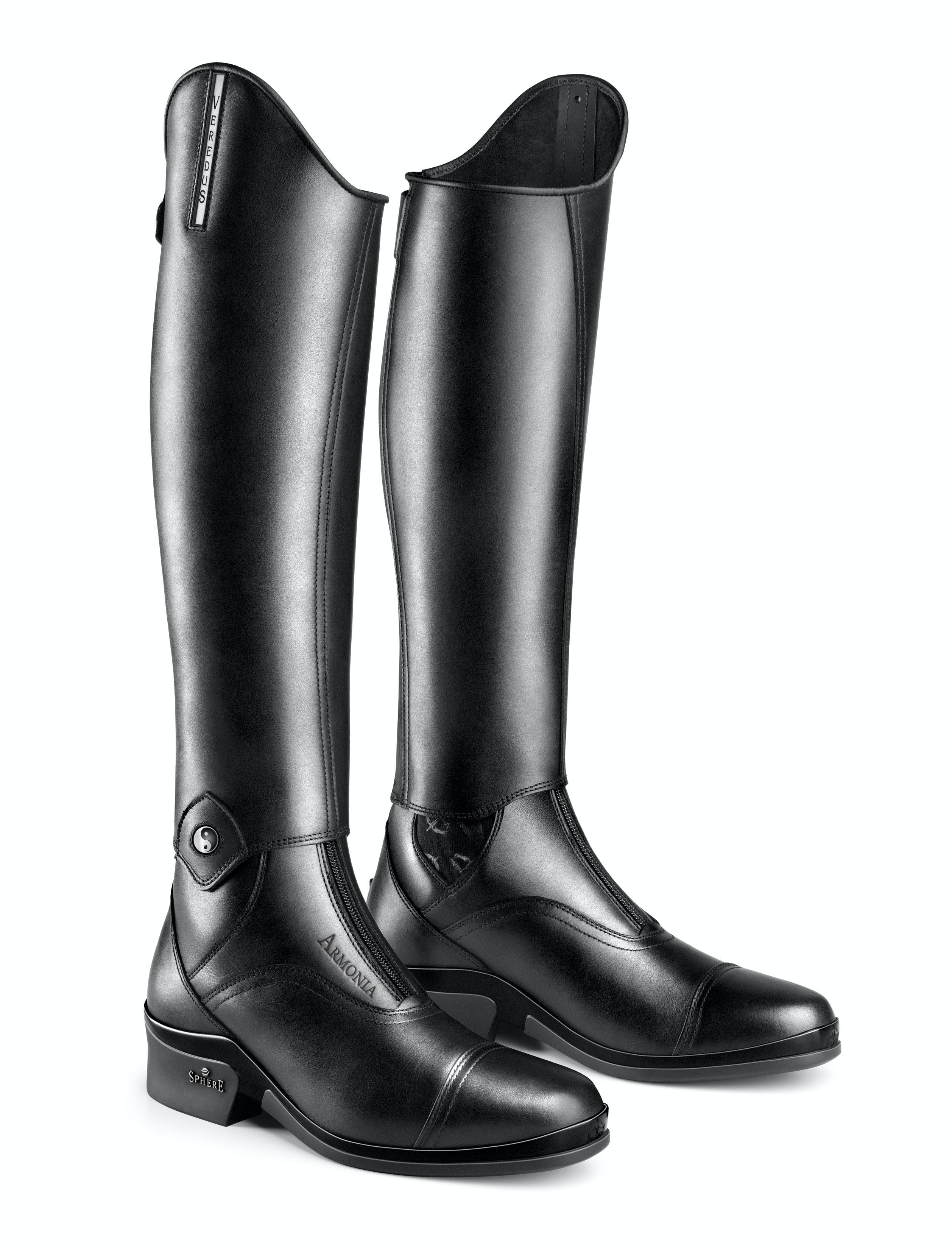 Ying yang boots armoniaaccordo pair front lr