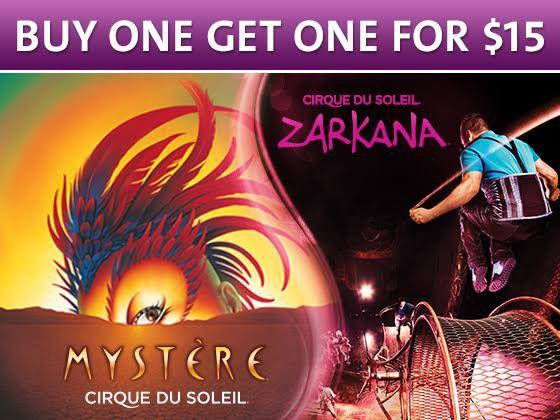 Cirque mystere zarkana giveaway
