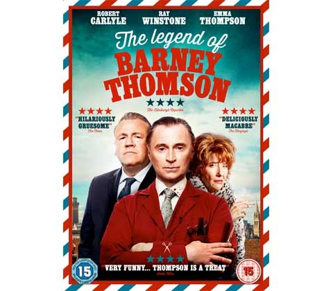 Win THE LEGEND OF BARNEY THOMSON, A MOST VIOLENT YEAR, WHILST WE'RE YOUNG & DRIVE on DVD sweepstakes
