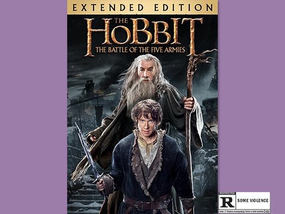 Hobbit extended digital hd giveaway