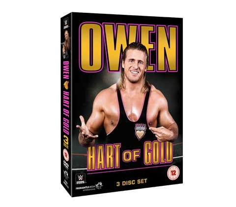 Owen Hart - Hart of Gold DVD sweepstakes