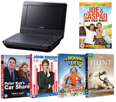 Win 3 x portable Sony DVD player & DVD sets sweepstakes