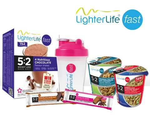 LighterLife Fast  5:2 products sweepstakes
