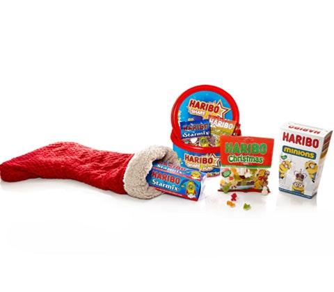 Win 5 x Christmas treats from HARIBO sweepstakes
