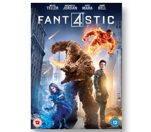 FANTASTIC FOUR on DVD! sweepstakes