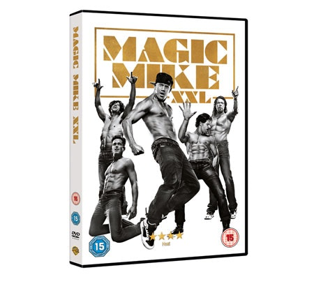 Magic Mike XXL DVD sweepstakes