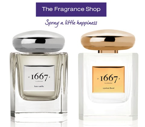 Win 5 x sets of 1667 scents sweepstakes