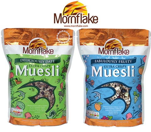 Win 4 x pouches of Mornflake mueslis sweepstakes