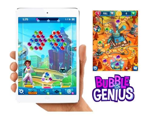 Bubble Genius Game sweepstakes