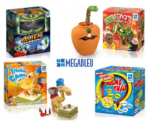 Win a festive games bundle from MegaBleu sweepstakes