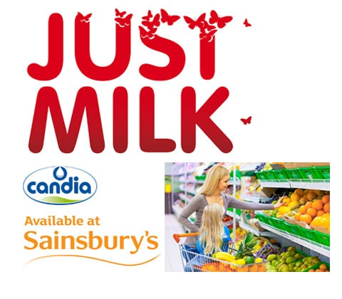 Win £400 in Sainsbury's vouchers with JUST MILK sweepstakes