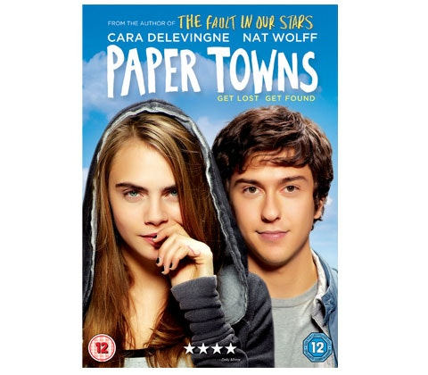 Paper Towns DVD sweepstakes